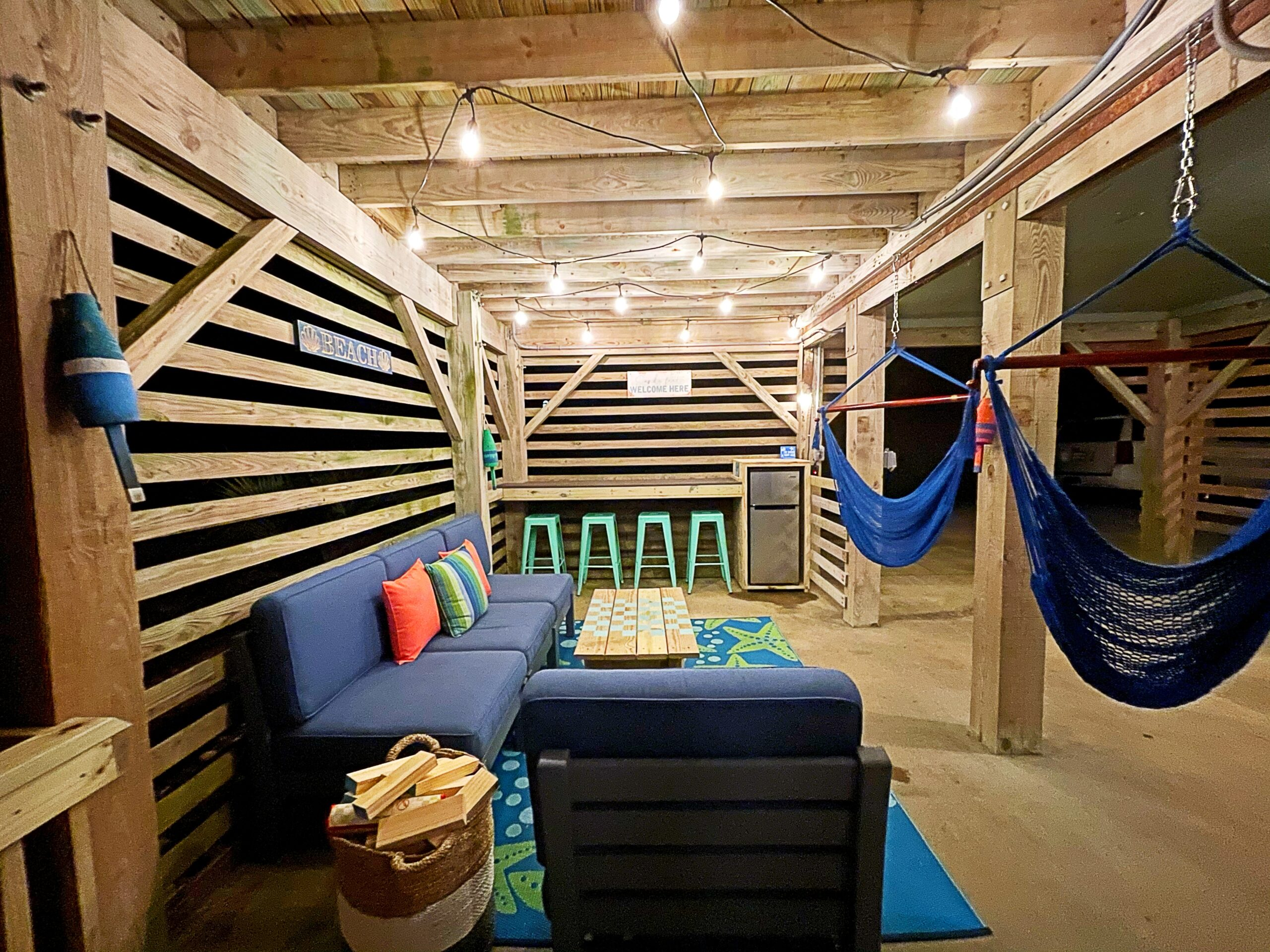 Happy Daze Hangout Area